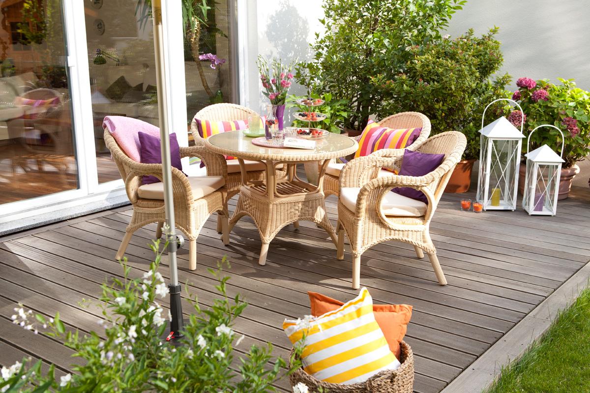 Terrassendeck aus Holz bauen So geht's richtig   selbermachen.de