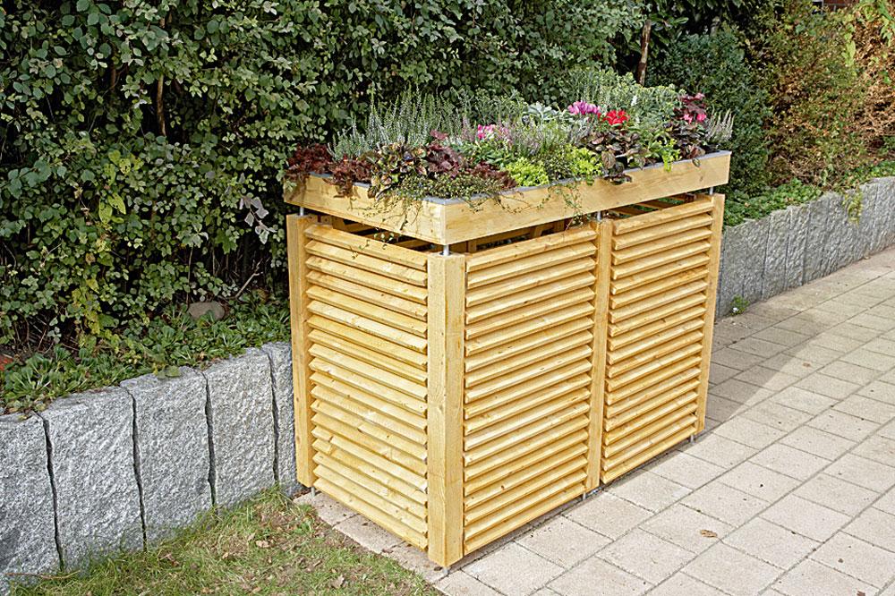 Mülltonnenbox Selber Bauen Anleitung Selbermachen De