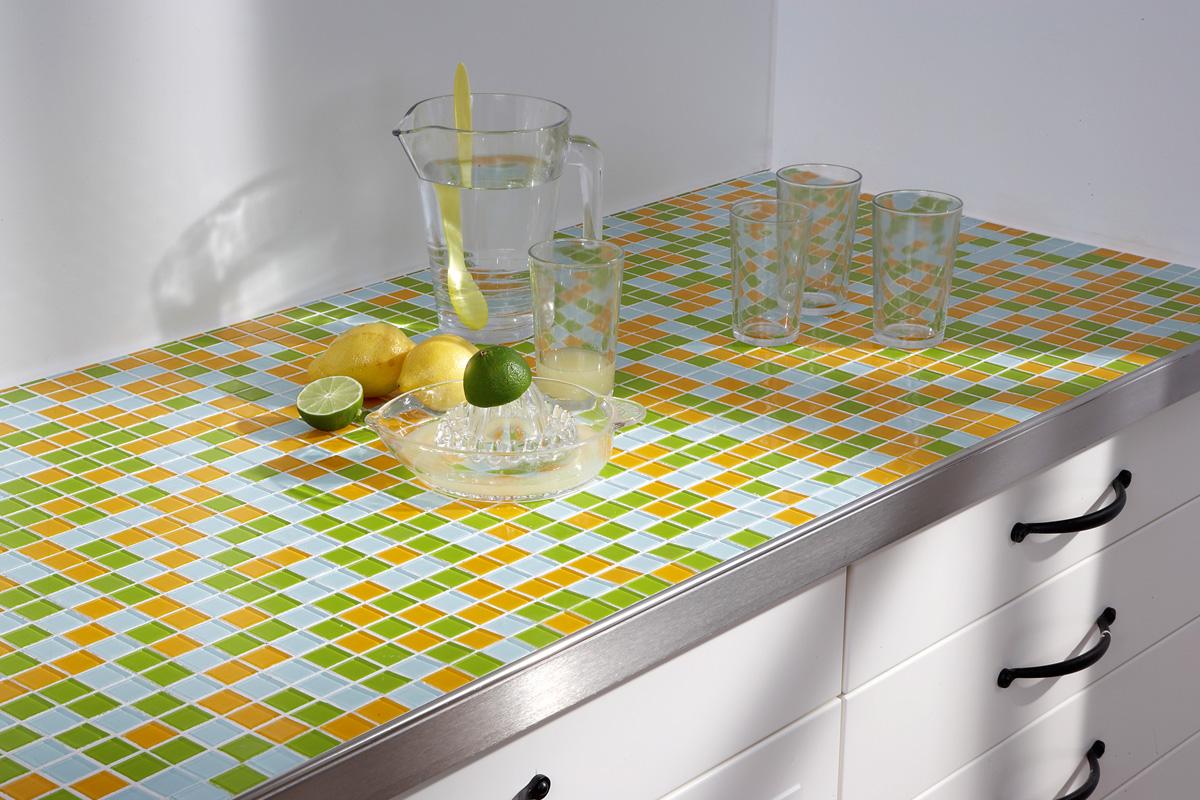 Mit Mosaikfliesen werden Küchen endlich bunt | selbermachen.de