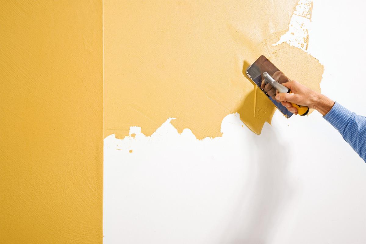 Wände verputzen: Alternativen zur Tapete   selbermachen.de