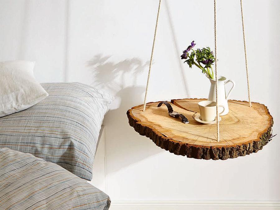 Schwebenden Nachttisch Aus Holz Selber Bauen Selbermachen De