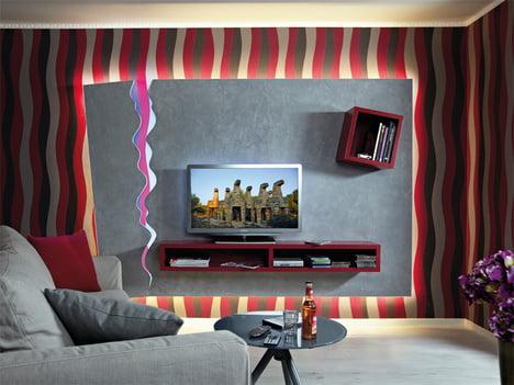 Tv Wand Mit Led Beleuchtung Selber Bauen Selbermachen De