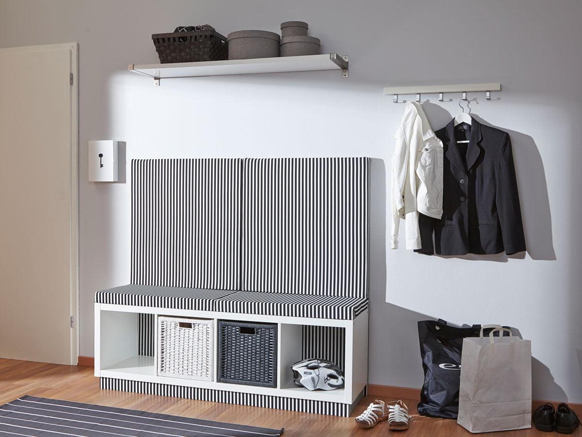 Ikea Hack Aus Kallax Wird Eine Garderobenbank Selbermachen De