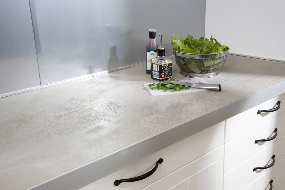 Küchen-Arbeitsplatte in Beton-Optik selber machen  selbermachen.de