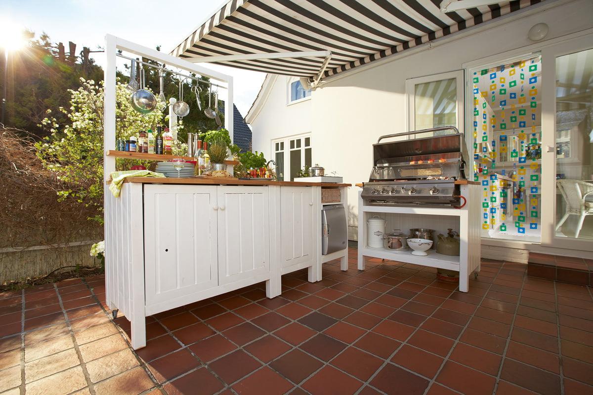 Outdoor Küche selber bauen   So geht's   selbermachen.de