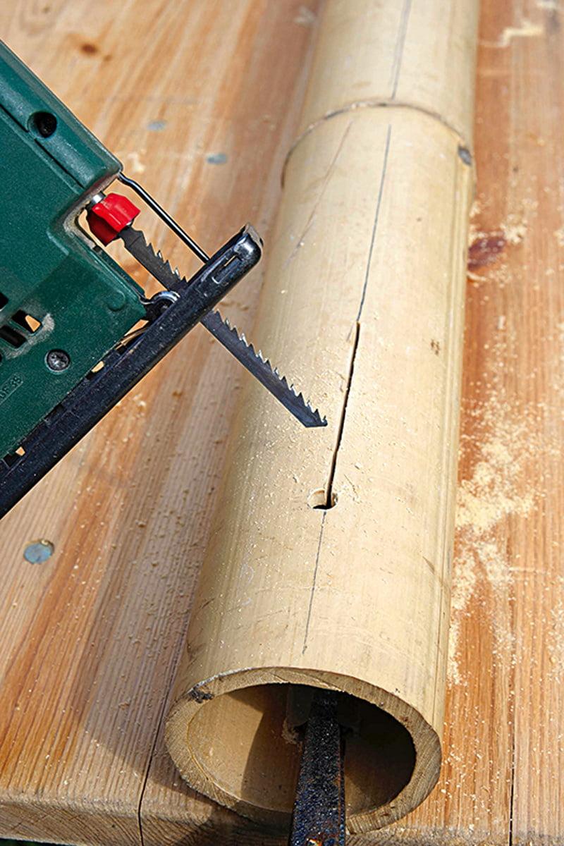 Sichtschutz Aus Bambus Selbermachen De