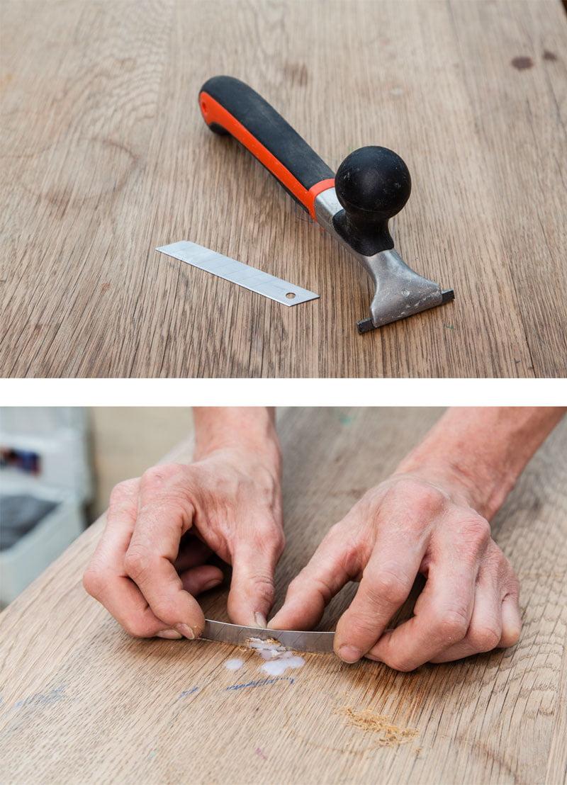 Alten Holztisch restaurieren  selbermachen.de