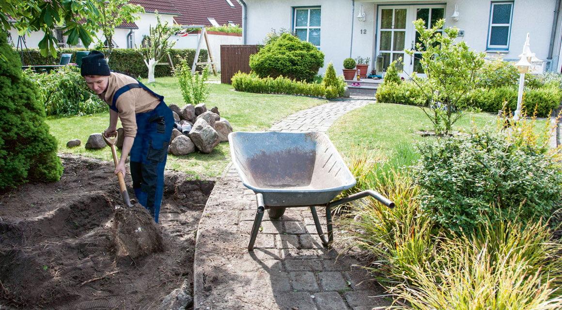 Friesenwall So Bauen Sie Eine Trockenmauer Im Garten Selbermachen De