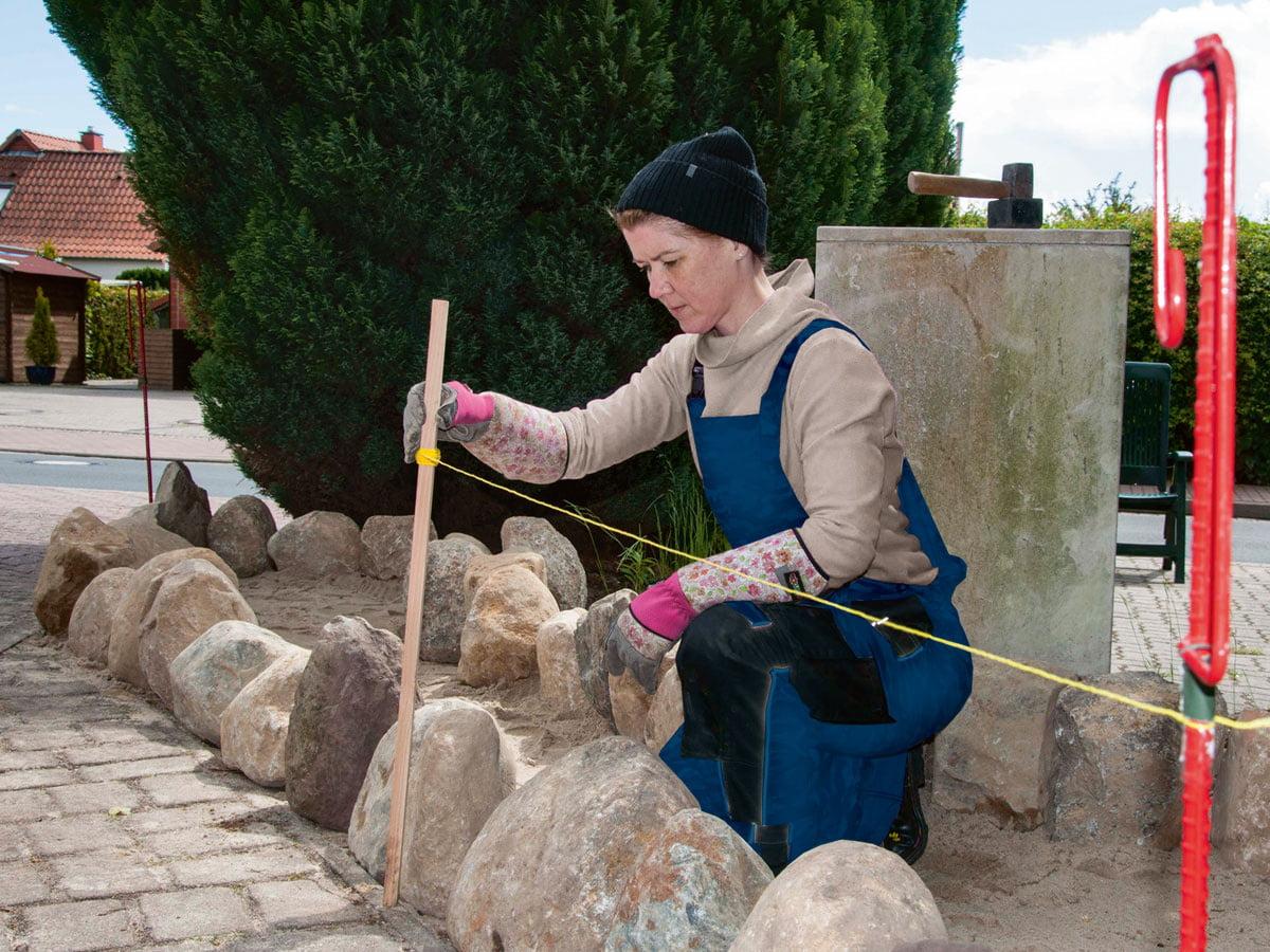 Friesenwall So Bauen Sie Eine Trockenmauer Im Garten