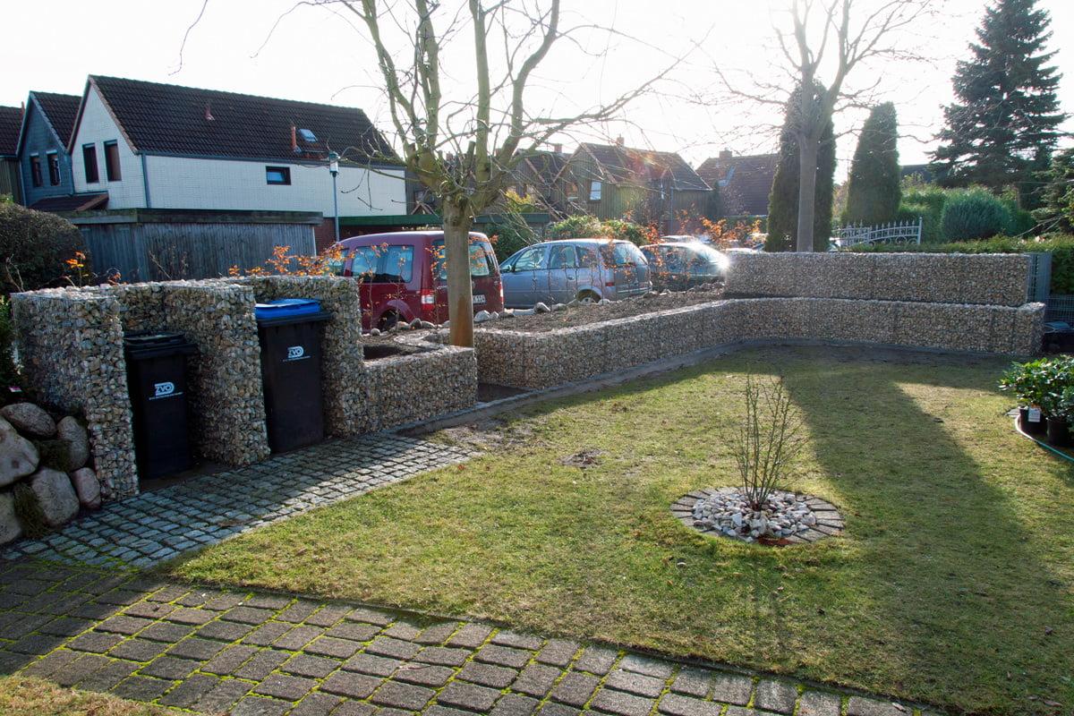 Gartenmauer Mit Gabionen Selber Bauen So Geht S Selbermachen De