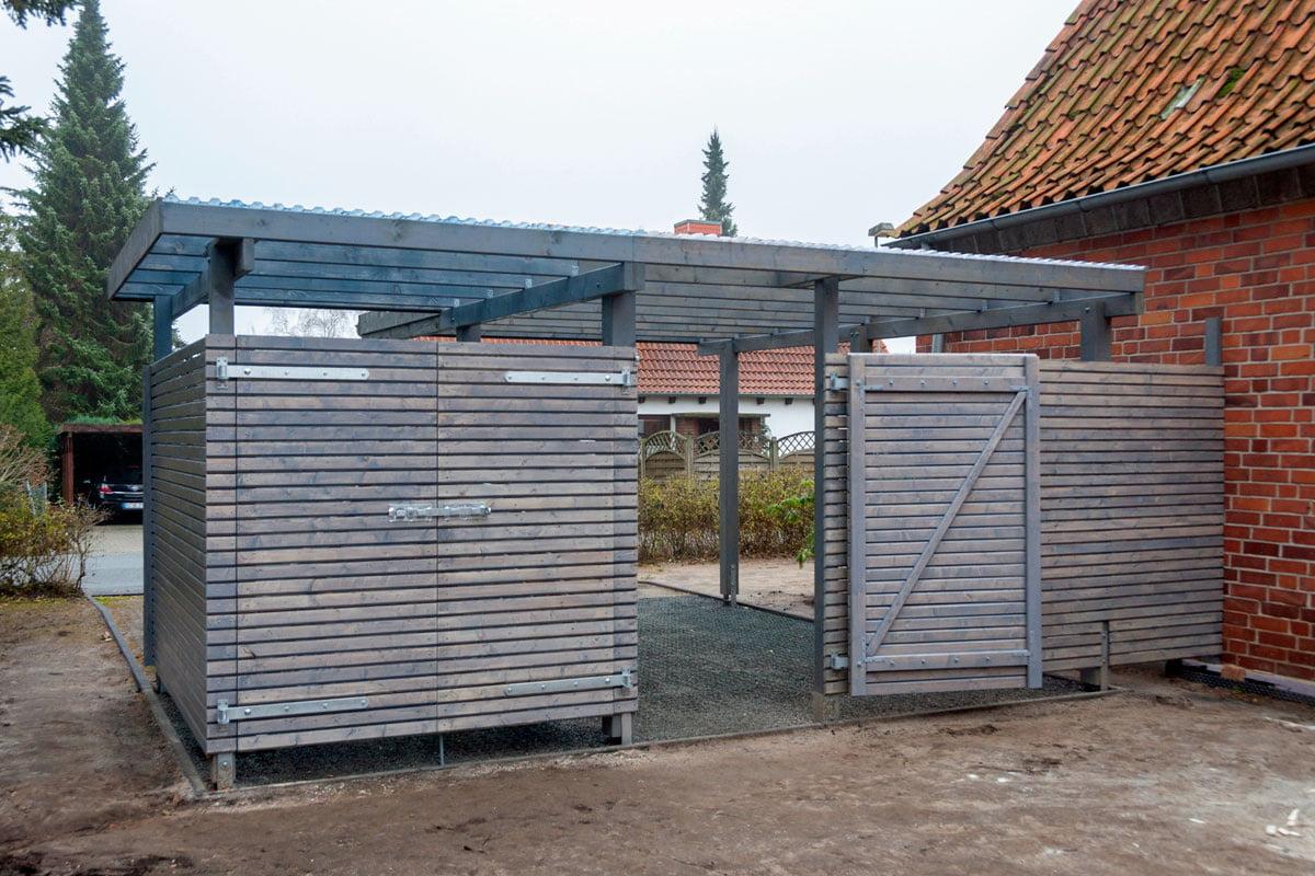 Carport Selber Bauen Bausatz Mit Erweiterung Selbermachen De