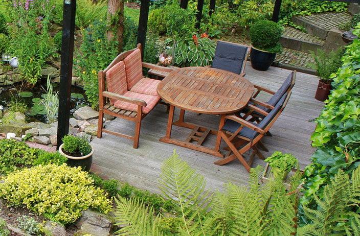Gartenmöbel Bauen Material Und Pflege Selbermachende