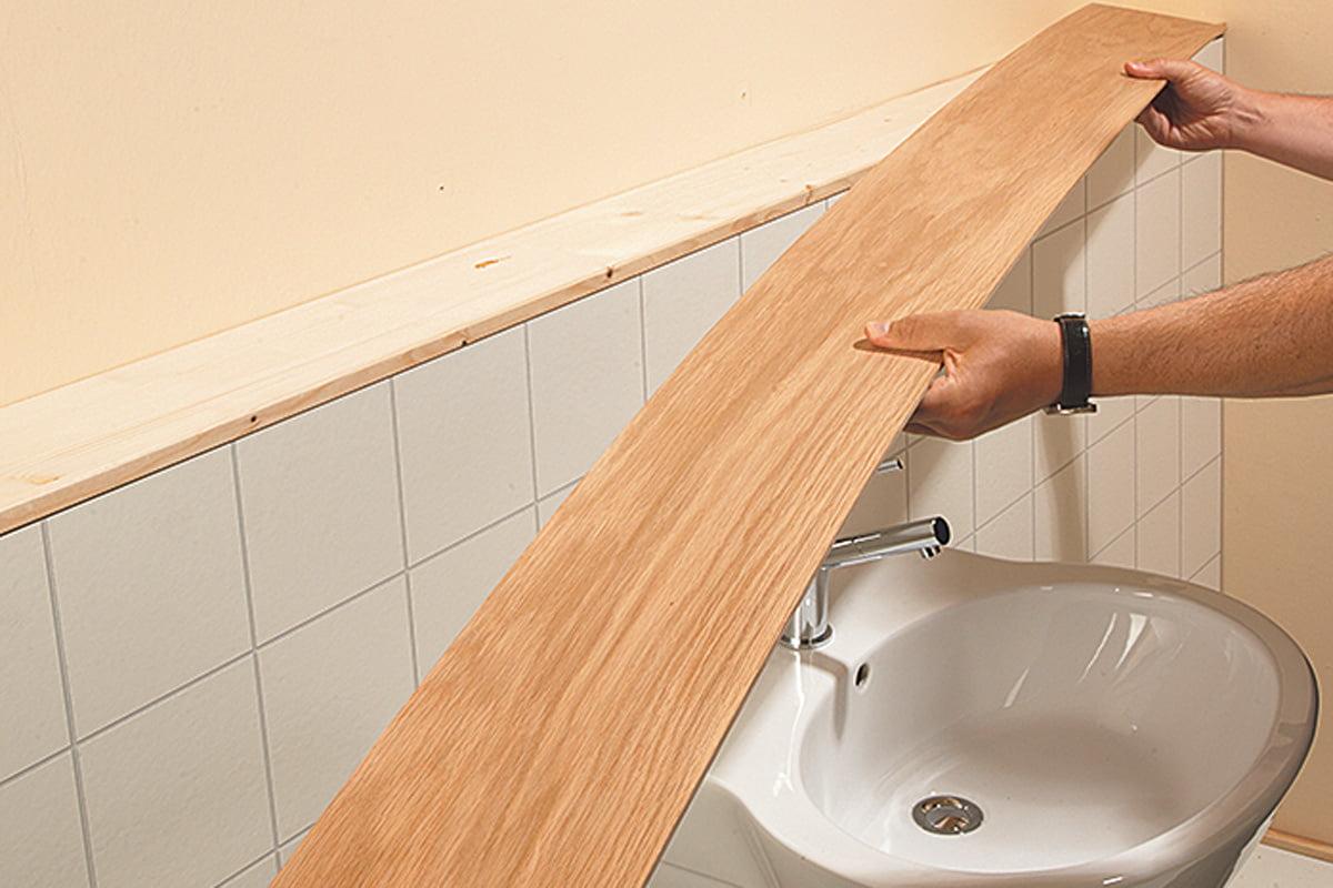 Echtholz im Bad – so bleibt es lange schön   selbermachen.de