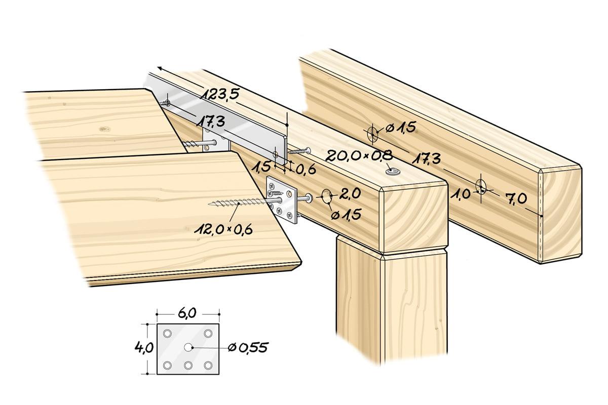 Terrasse Mit Holzdeck Und Lamellendach Selbermachen De