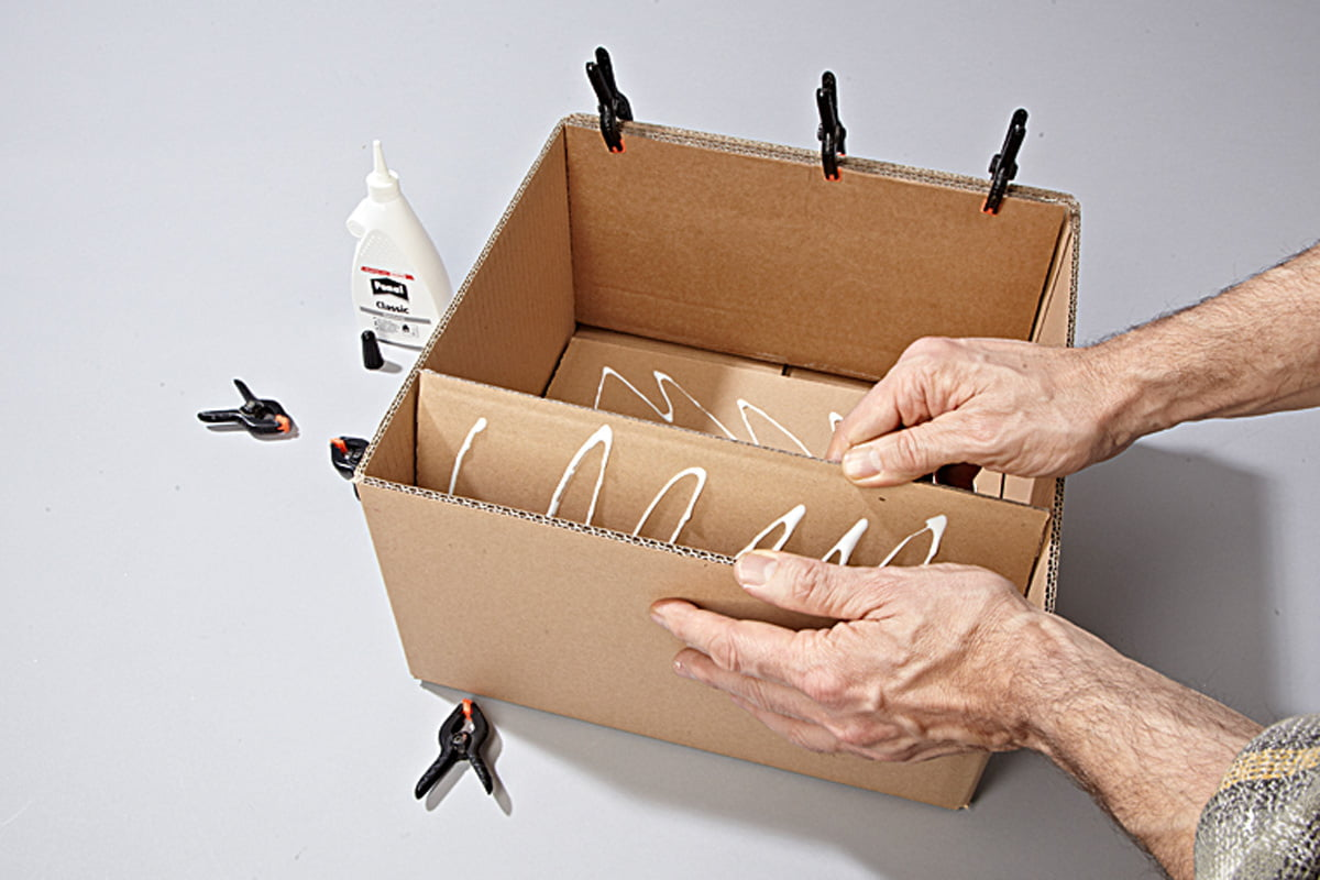 Mobel Aus Karton Papp Recycling Fur Zuhause Selbermachen De