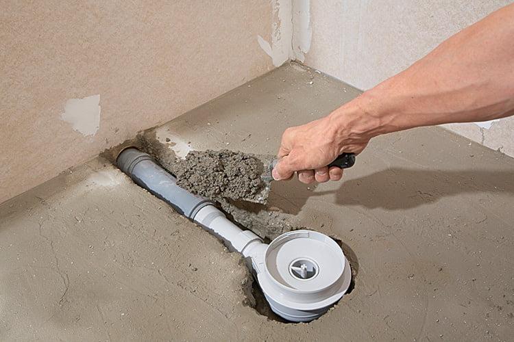 Bodengleiche Dusche Ablauf Einbauen Selbermachen De
