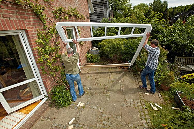 Pergola Selber Bauen Sonnenschutz Auf Der Terrasse Selbermachen De