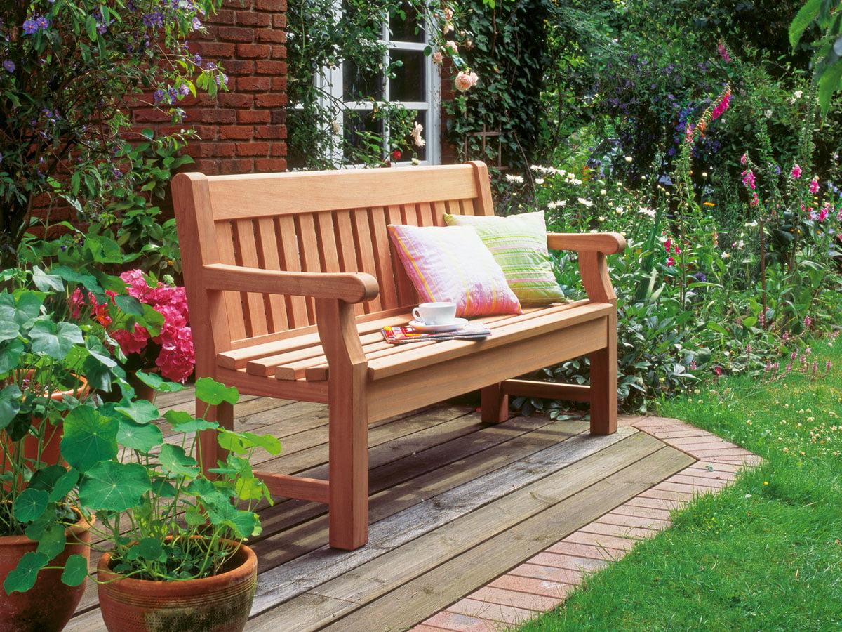 Gartenbank Im Englischen Stil Bauen Selbermachende
