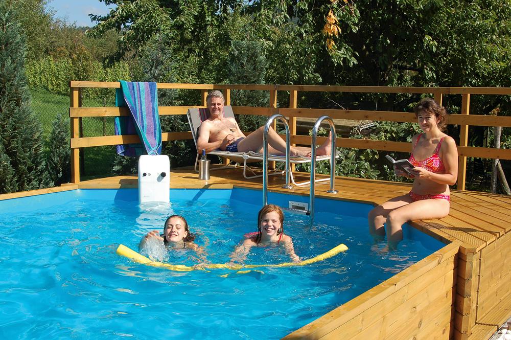 Pool anlegen: Schwimmbecken für den Garten bauen ...